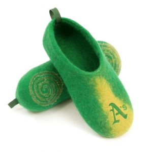 House Shoes  - Oakland Athletics