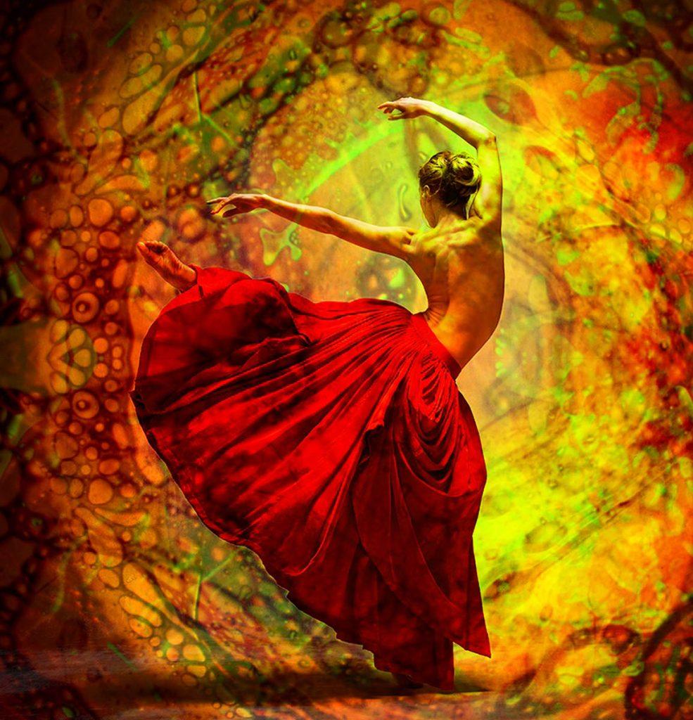 Bill Ham Lights female dancer by Alexander Yakovlev, edited by emi