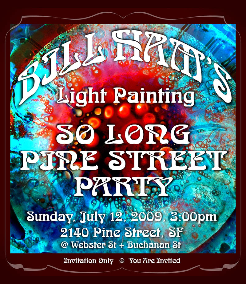 Bill Ham Lights So Long Pine Street Party Poster by emi