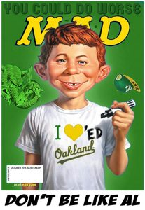 Mad Cover 2015 - Oakland Athletics