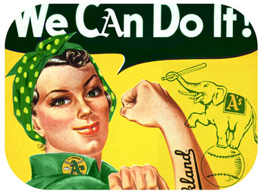 We can do it - Oakland Athletics